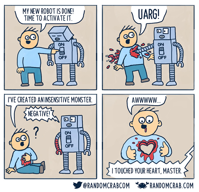 my new robot friend
